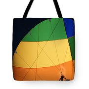 Hot Air Balloon Rigging Tote Bag