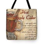Hot Apple Cider Tote Bag