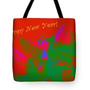 Hot As A Pepper New Year Greeting Card Tote Bag