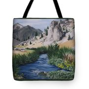 Hot Creek Tote Bag