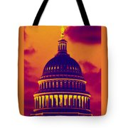Hot Dome Tote Bag