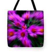 Hot Pink And Green Tote Bag