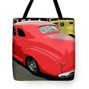 Hot Rod Car Show Tote Bag