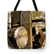 Hot Rod Grille Tote Bag