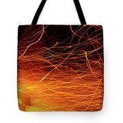 Hot Sparks Tote Bag