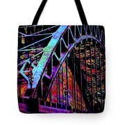 Hot Town Summer In The City Tote Bag