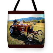 Hot Wheels For The Witch Tote Bag