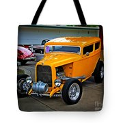 Hot Yellow Tote Bag
