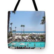 Hotel Del Coronado Pool  Tote Bag