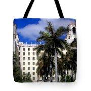 Hotel Nacional De Cuba Tote Bag