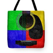 Hour Glass Guitar 4 Colors 1 Tote Bag