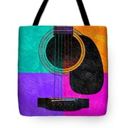 Hour Glass Guitar 4 Colors 2 Tote Bag