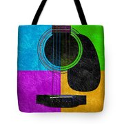 Hour Glass Guitar 4 Colors 3 Tote Bag