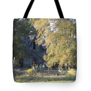 House Alone Tote Bag