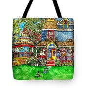 House Of Cats Tote Bag