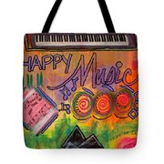House Of Happy Music Tote Bag