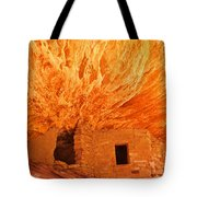 House On Fire Portrait 1 Tote Bag