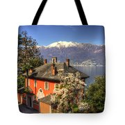 House On The Lake Front Tote Bag