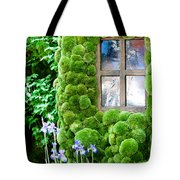 House With Moss Walls Tote Bag