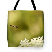 Hovering Over Tote Bag