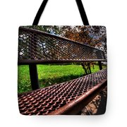 How Long Must One Wait Tote Bag