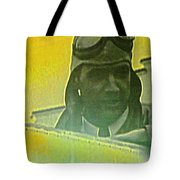 Howard Hughes From The Screen Tote Bag