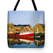 Howth Harbour, County Dublin, Ireland Tote Bag