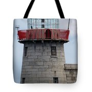 Howth Lighthouse 0002 Tote Bag