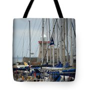 Howth Lighthouse 0003 Tote Bag