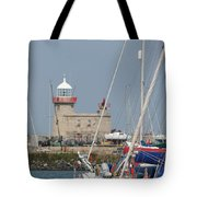 Howth Lighthouse 0004 Tote Bag