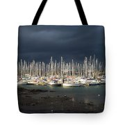 Howth Yacht Club Marina, Co Dublin Tote Bag
