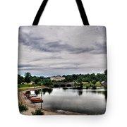 Hoyt Lake Delaware Park 0001 Tote Bag