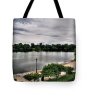 Hoyt Lake Delaware Park 0002 Tote Bag