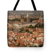 Hradcany In Prague Tote Bag