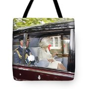 Hrh Prince Charles And Camilla Tote Bag
