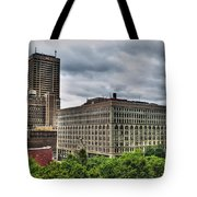 Hsbc Tower    Ellicott Square Buliding Tote Bag