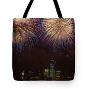 Hudson River Fireworks Xi Tote Bag
