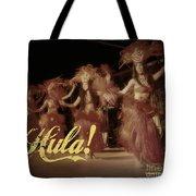 Hula Daguerreotype Tote Bag
