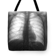 Human Chest Tote Bag