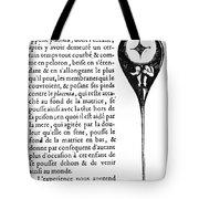Human Sperm - 17th Century Tote Bag