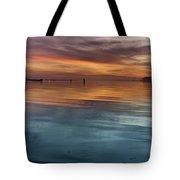 Humboldt Bay Dusk Tote Bag