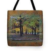 Humboldt Park Trees Layered Tote Bag