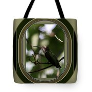 Hummingbird - Card - Glint Of The Eye Tote Bag