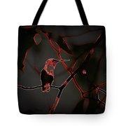 Hummingbird - Ruby-throated Hummingbird- Different Tote Bag