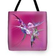 Hummingbird Fantasy Abstract Tote Bag