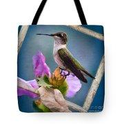 Hummingbird Picture Pretty Tote Bag