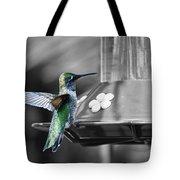 Hummingbird Wings II Tote Bag