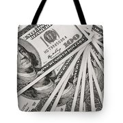 Hundred Dollar Bills Tote Bag