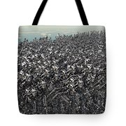Hundreds Of Robots Running Wild Tote Bag