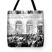 Hungarian Home Rule, 1848 Tote Bag by Granger